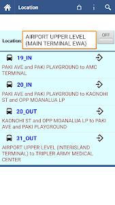 Honolulu Transit Info screenshot 6