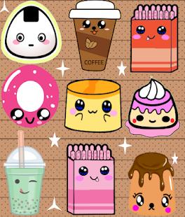 Source · Cute Kawaii Food Wallpaper Gendiswallpaper com