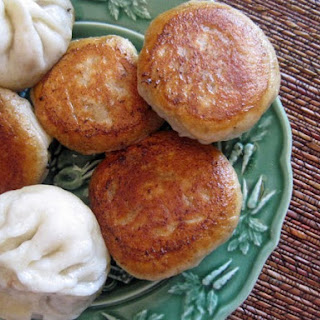 Steam-Fried Dumplings (Shuijin Bao)