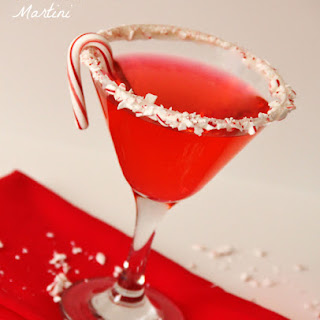 Peppermint Martini.