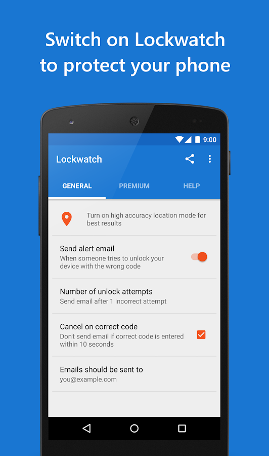 Lockwatch - Protect Your Phone- screenshot