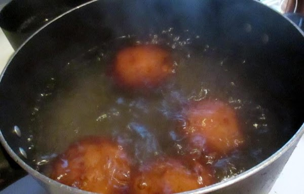 Place washed potatoes whole, in a pot and cover with water. Bring to a...