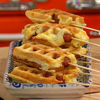Jalapeo Popper Corn Dog Waffles
