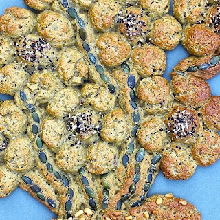 Beautiful Gluten Free Bread Bouquet (with my new Oat,Teff & Millet bread) - GBBO Week 3