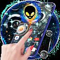 Alien Tech Live Wallpaper & Animated Keyboard icon