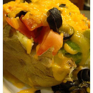 Mexican Baked Potatoes