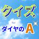 クイズforダイヤのA 人気野球マンガスポ根アニメ 非公式無料ゲームアプリ - Androidアプリ