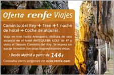 Promotion El Caminito del Rey on rail!