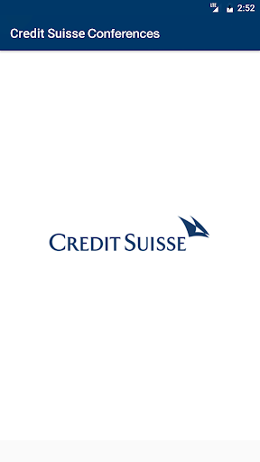Credit Suisse Conferences Screenshot
