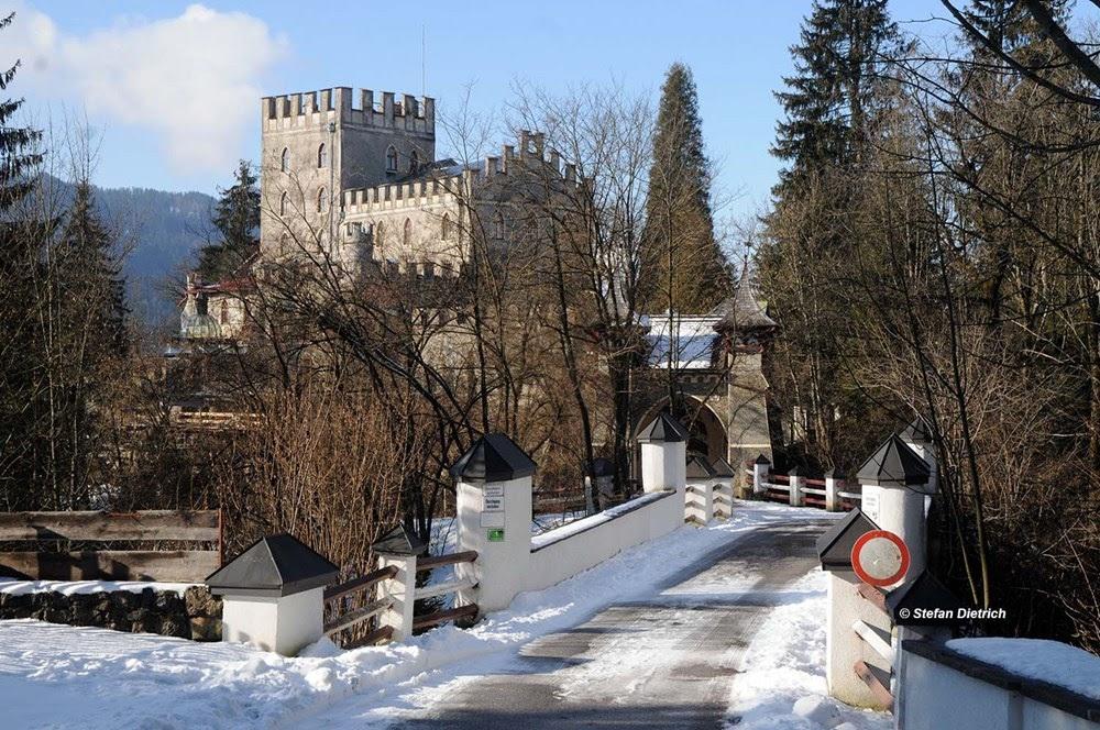 Castelo Itter, lugar onde americanos e alemães lutaram como aliados