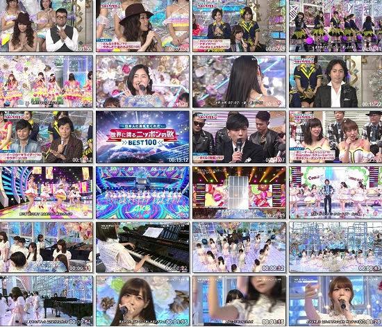 (TV-Music)(1080i) AKB48G 乃木坂46 Part – 30年目突入!史上初の10時間SP MUSIC STATION ウルトラFES 150923