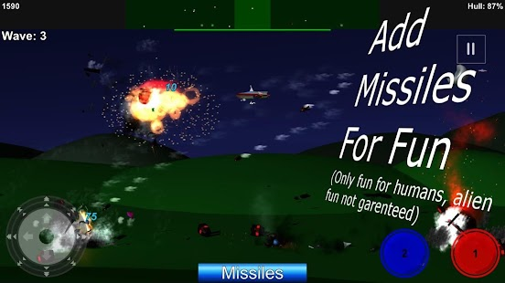 Invasion:Free game - sideways shooter - náhled