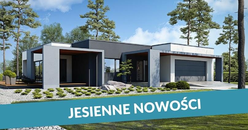 Nowe projekty domów - jesień 2017