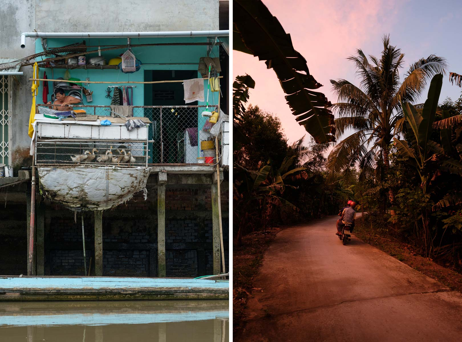 Mekong Delta, Southern Vietnam