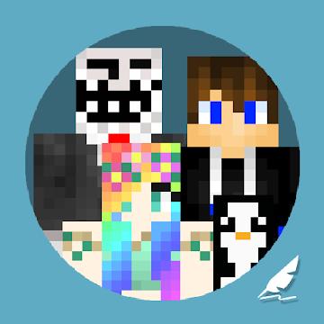 MCPE Skin World for Minecraft