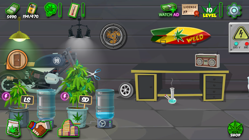 Kush Tycoon: Grow Best Buds in Hempville - screenshot