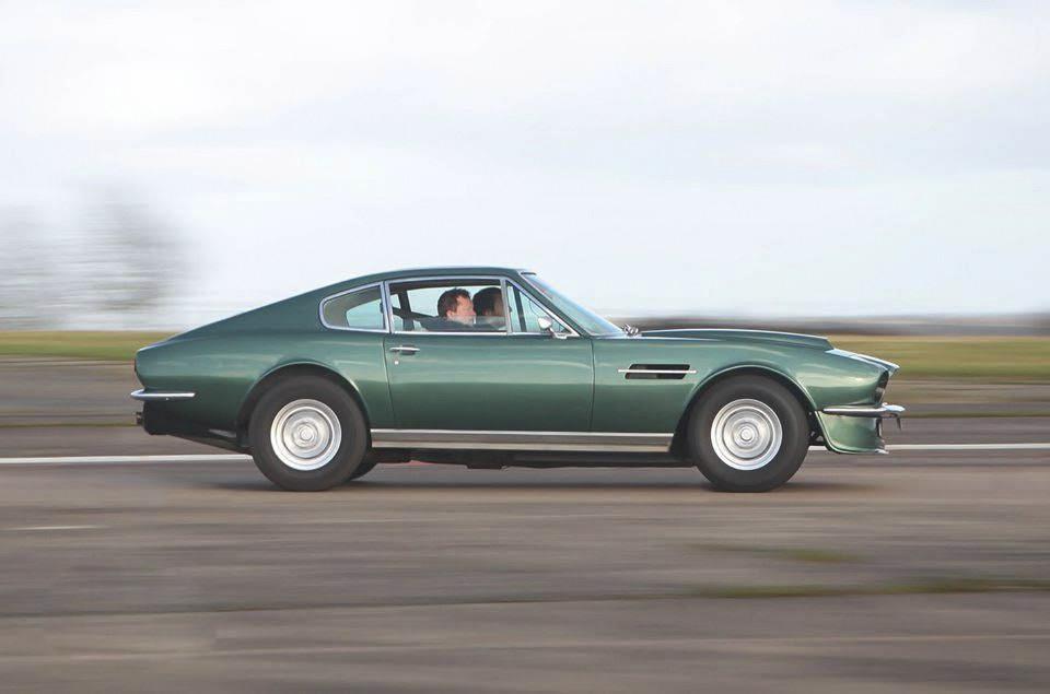 Aston Martin Vantage Hire Cardiff
