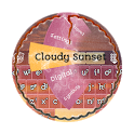 Cloudy Sunset GO Keyboard icon
