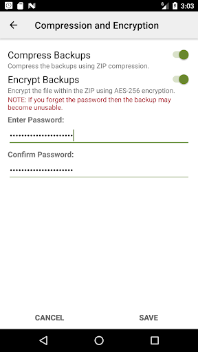 Screenshot for SMS Backup & Restore Pro in Hong Kong Play Store