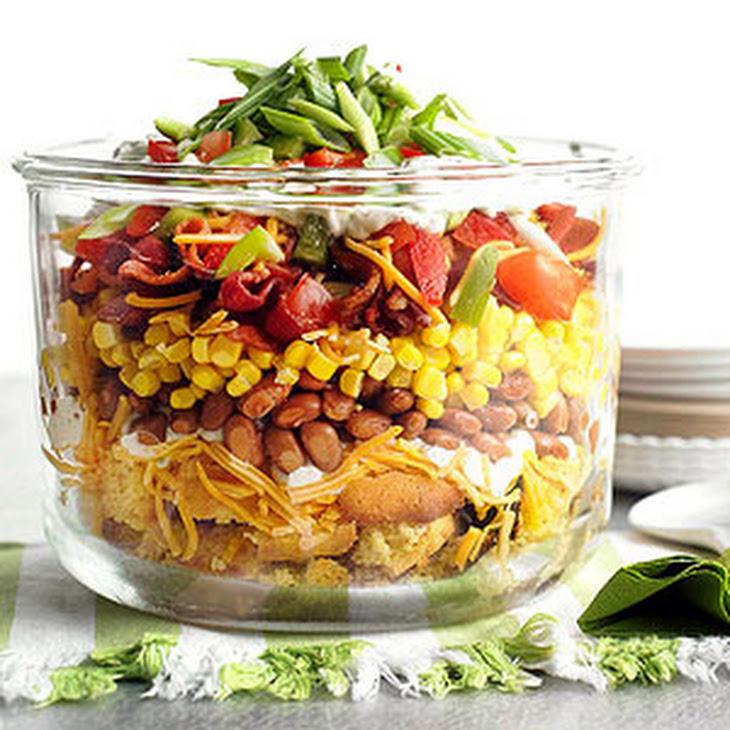 Mississippi Corn Bread Salad Recipe   Yummly