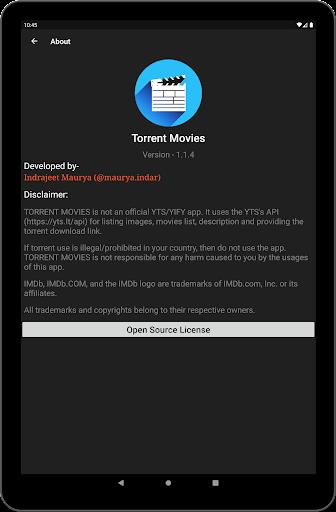 Torrent Movies 1.2.3 screenshots 16