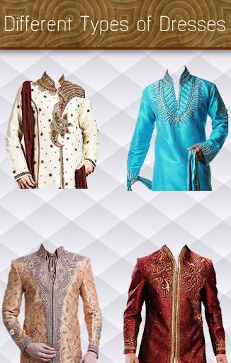 indian sherwani suit dress up