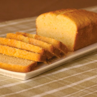 Golden Corn Pound Cake
