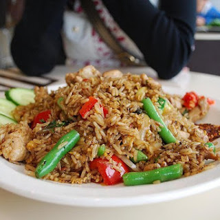 Golden Corral's Pagoda Fried Rice