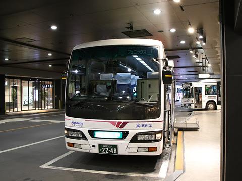 西鉄高速バス「フェニックス号」 9912 西鉄天神高速バスターミナル改札中