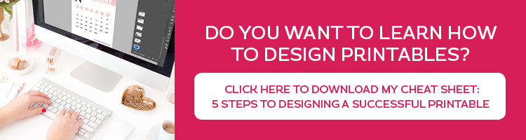 How to make money designing printables - MichelleHickey Design