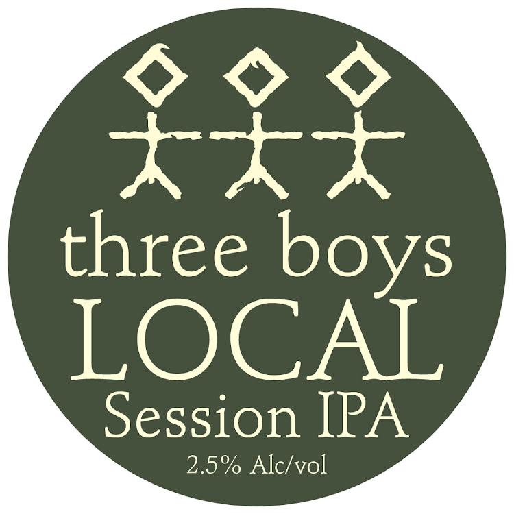 Logo of Three Boys Local Session IPA