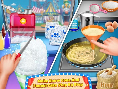 Carnival Fair Food Maker- screenshot thumbnail