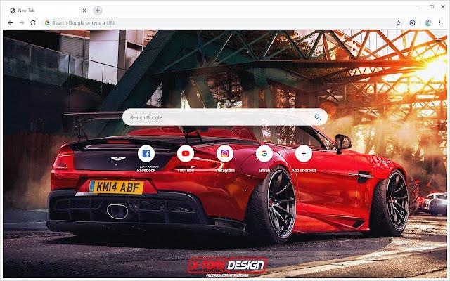 New Tab - Aston Martin
