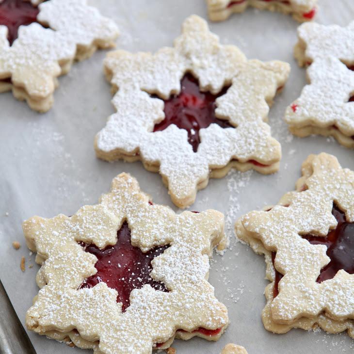 raspberry cookies raspberry linzer cookies recipes raspberry linzer ...