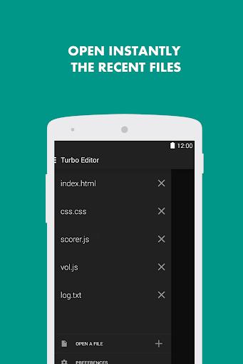Turbo Editor // Text Editor 2.4 Screenshots 2