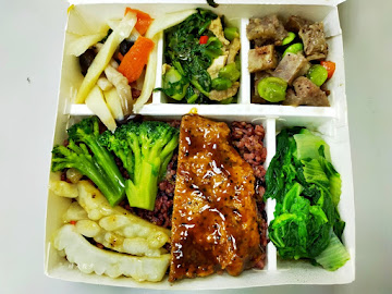 中華素食自助餐