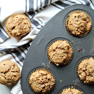 Lightened-Up Peanut Butter and Banana Muffins
