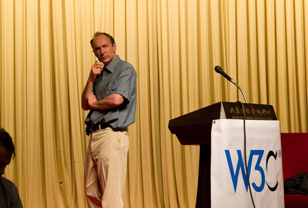 Photo de Tim Berners-Lee David Leuliette pour google image