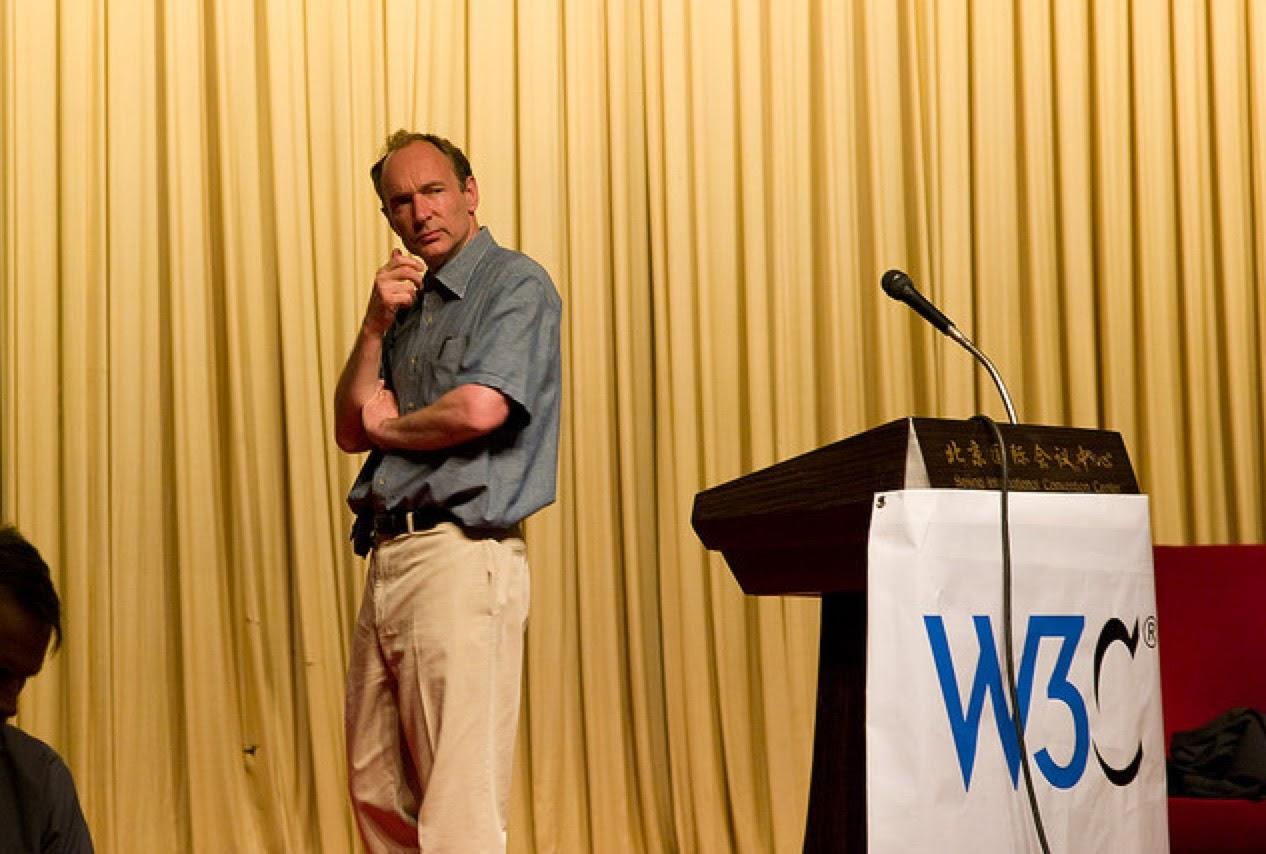 Photo de Tim Berners-Lee David Leuliette pour google image