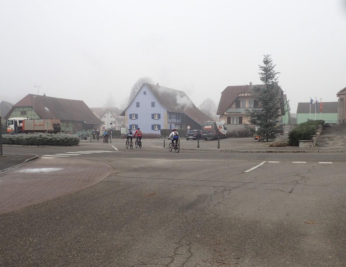 A LIebsdorf, on retrouve le brouillard
