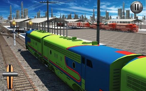 Train Driving Simulator USA: Train Games 3D 3