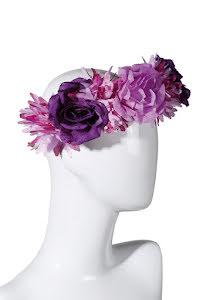 Blomsterkrans, lila