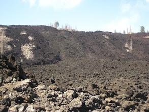 Photo: Soğumuş, silmiş süpürmüş lavlar.   Cooled lava.