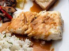 Savory Halibut Steak Recipe
