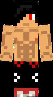 dat guy who doesnt wear pants Minecraft Skin
