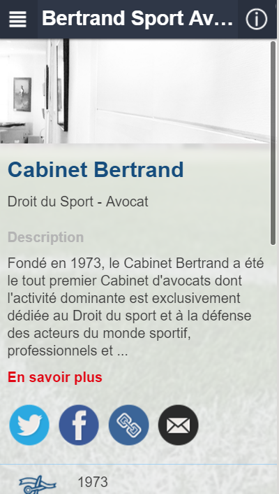 Bertrand Sport Avocat- screenshot