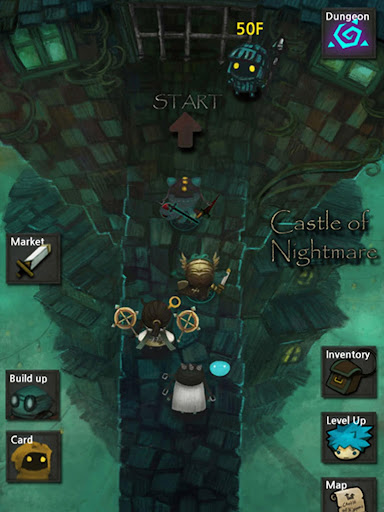 Castle of Nightmare Gold game for Android screenshot