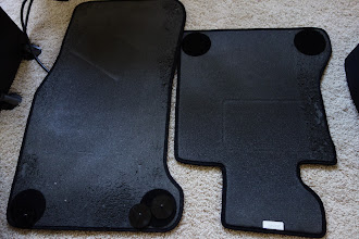 Photo: e60 545i floormats, never used (by me) but used by my cats.