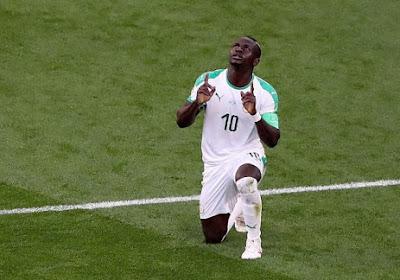 La déception de Sadio Mané après le nul du Sénégal face au Japon