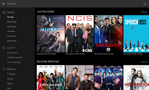 XFINITY Stream – Miniaturansicht des Screenshots